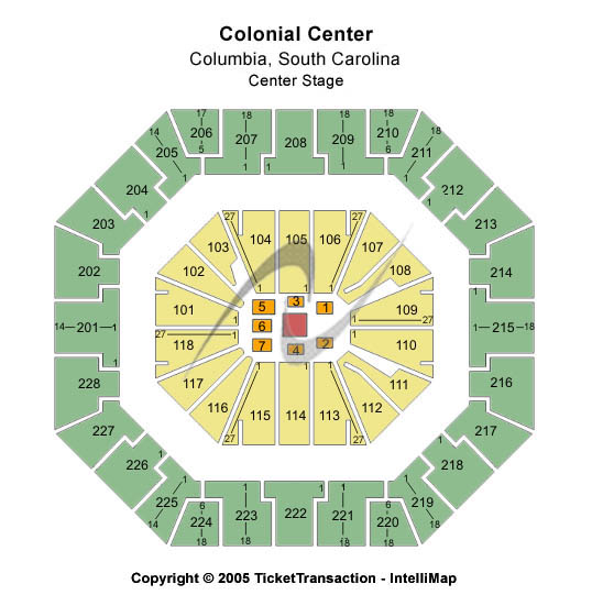 Colonial Life Arena Center Stage