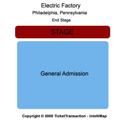 Electric Factory Seating Map