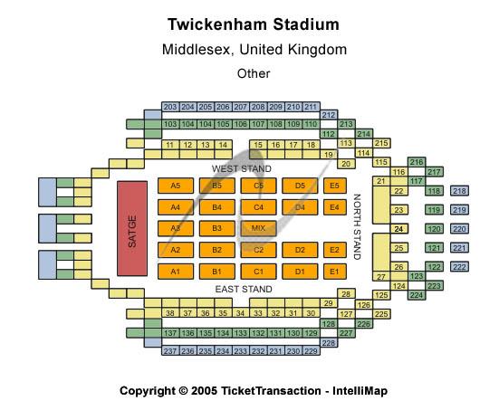 Twickenham Stadium Tickets Twickenham Gl Twickenham