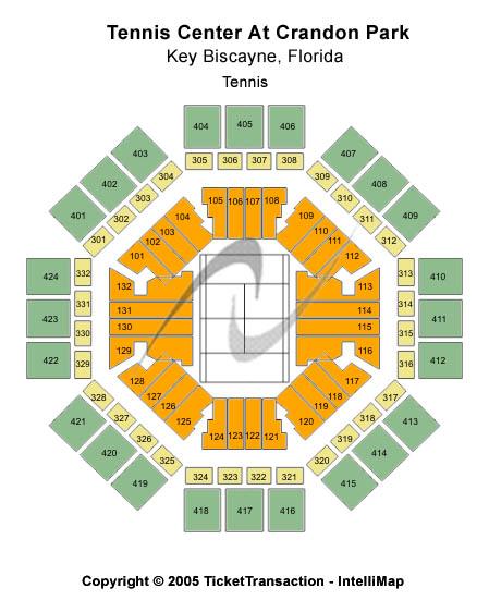 Tennis Center At Crandon Park Seating Chart