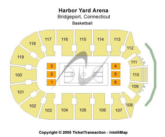 Webster Bank Arena At Harbor Yard Seating Chart