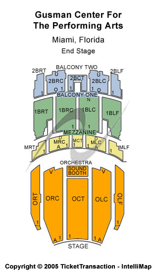 Olympia Theater Seating Chart