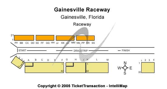 Gainesville Raceway Seating Chart