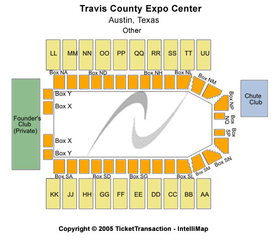 Travis County Expo Center Seating Chart