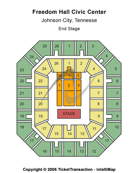 Freedom Hall Civic Center Seating Chart