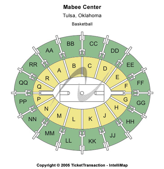 Mabee Center Seating Chart