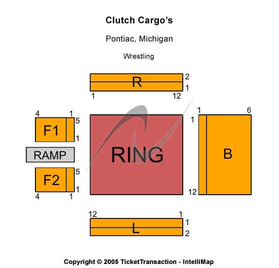 Clutch Cargos Seating Chart