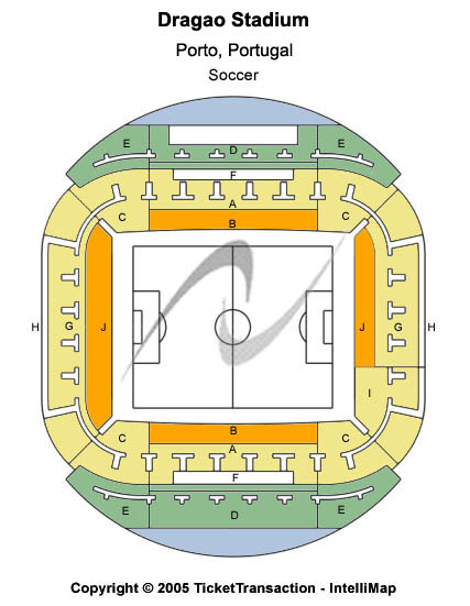 Dragao Stadium Seating Map