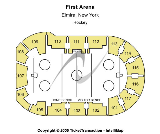 First Arena Seating Chart