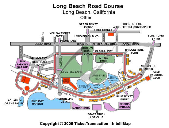 Long Beach Road Course Seating Chart