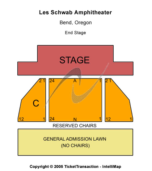 Les Schwab Amphitheater Seating Chart