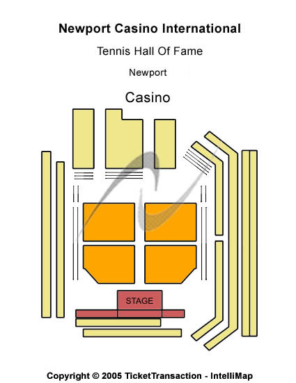 Newport Casino International Tennis Hall Of Fame Seating Map
