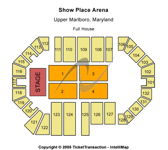 Show Place Arena Seating Chart
