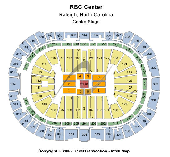 PNC Arena (Formerly RBC Center)