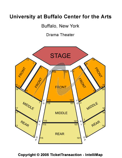 University At Buffalo Center For The Arts Seating Chart