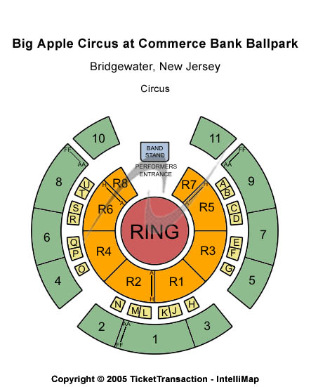 TD Bank Ballpark Seating Chart
