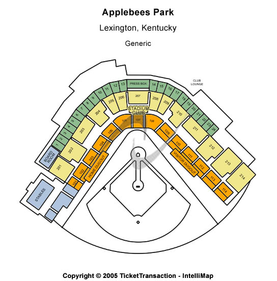Whitaker Bank Ballpark Seating Chart