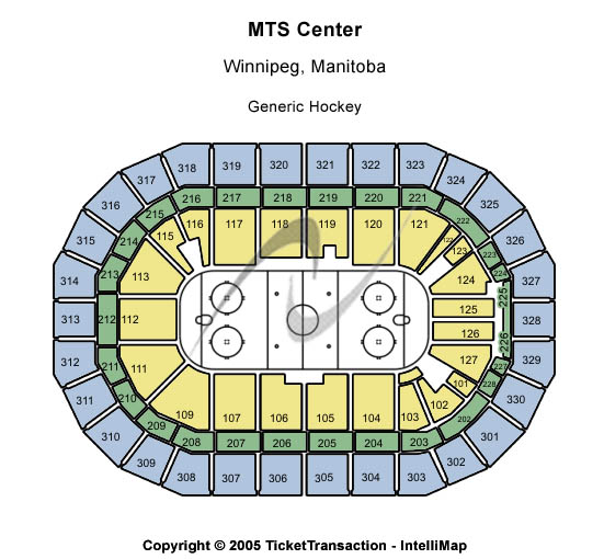 Bell MTS Place Seating Chart