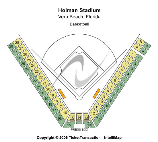Holman Stadium Seating Chart