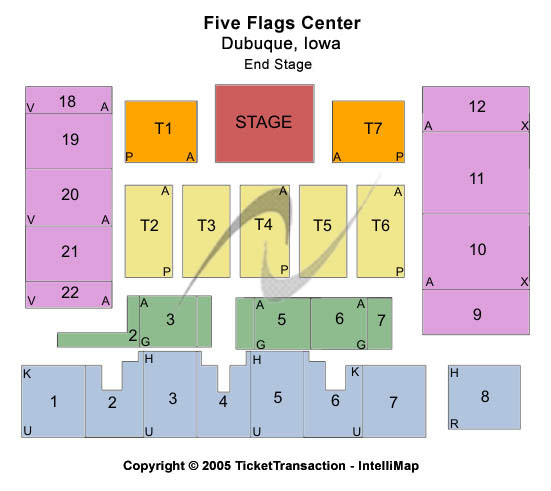 Five Flags Center Seating Chart