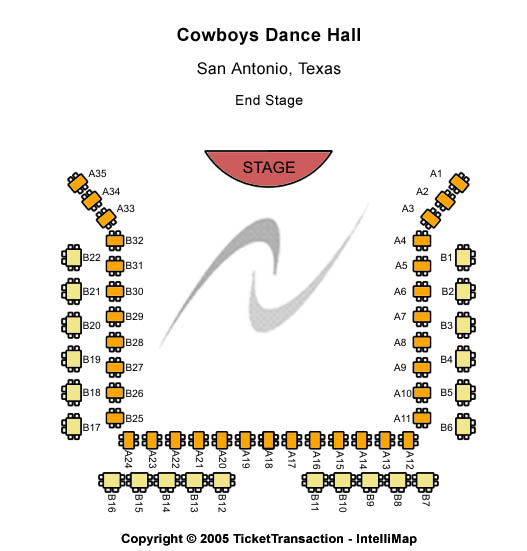 Cowboys Seating Chart