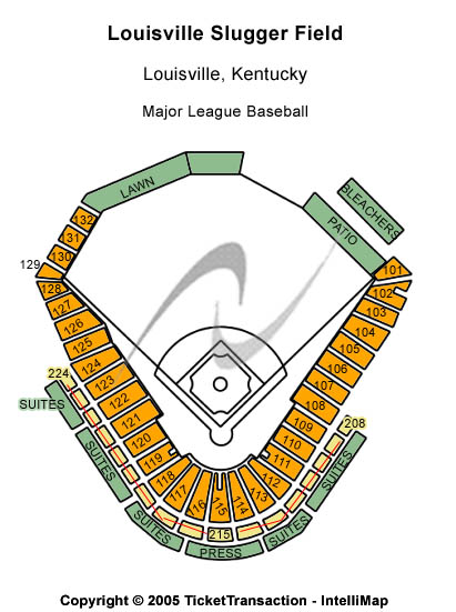 Louisville Slugger Field Seating Chart