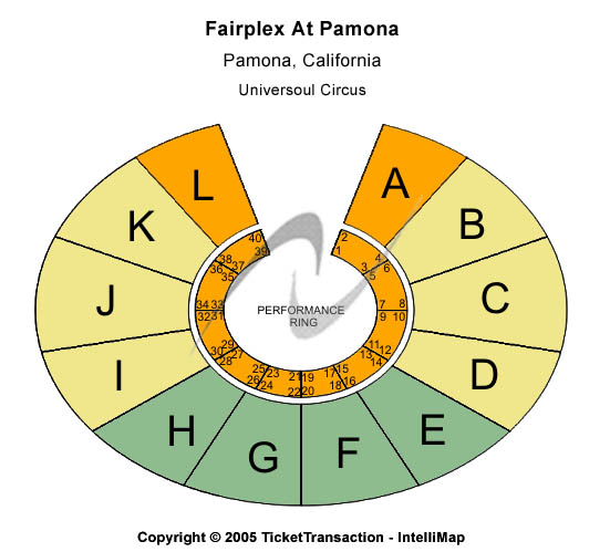 Fairplex At Pomona Seating Chart