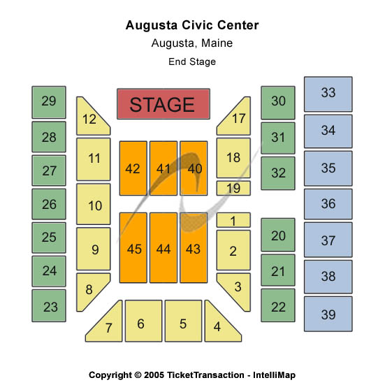 Augusta Civic Center Seating Chart