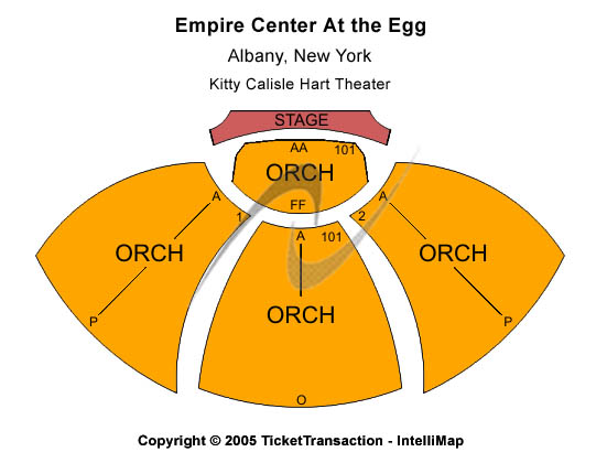 Empire Center At The Egg Seating Chart