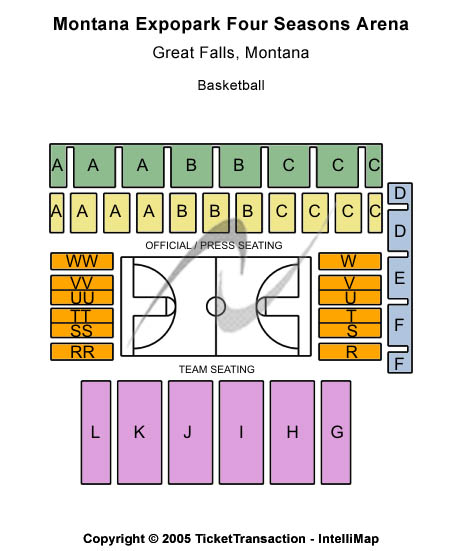 Montana Expopark Four Seasons Arena Seating Chart