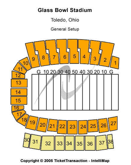 Glass Bowl Seating Map