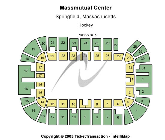 Massmutual Center Seating Map
