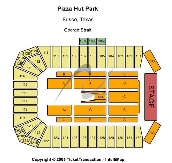 Toyota Stadium George Strait