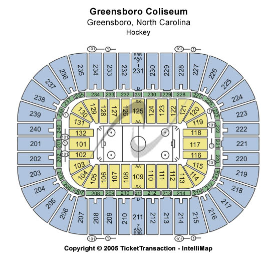Greensboro Coliseum Hockey