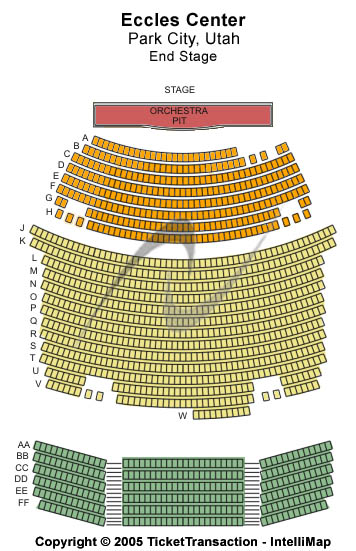 Eccles Center For The Performing Arts Seating Chart