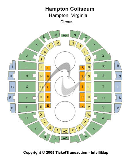 Hampton Coliseum Seating Chart