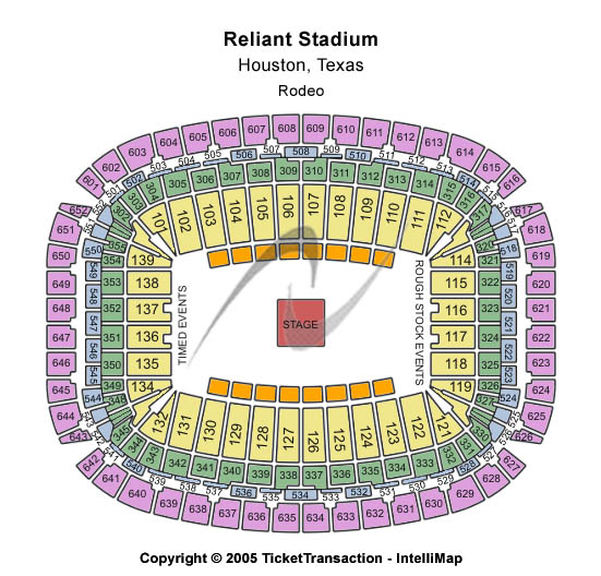 NRG Stadium (Formerly Reliant Stadium) Seating Chart: Other