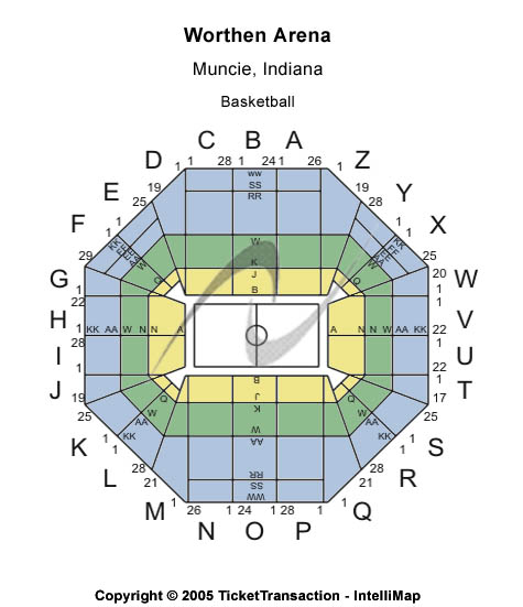 Worthen Arena Seating Chart