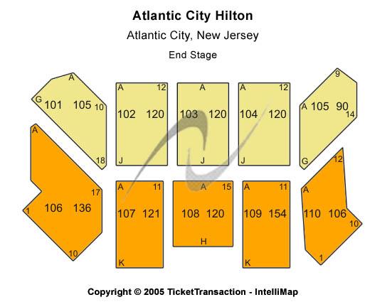 Atlantic City Hilton Seating Chart