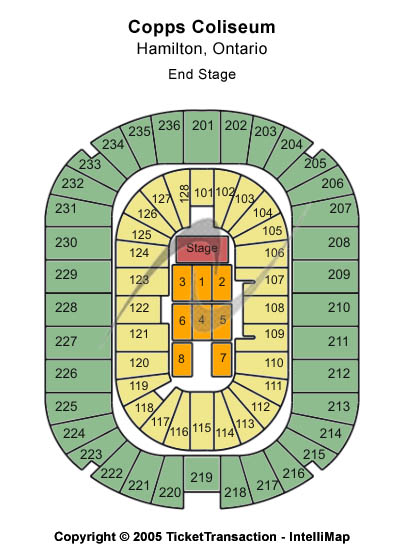 First Ontario Centre Seating Chart