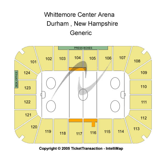 Whittemore Center Arena Seating Chart