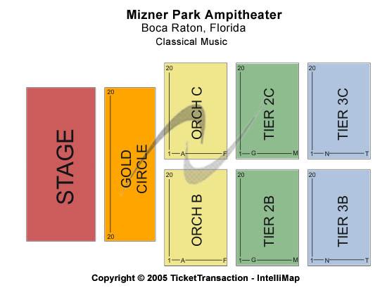 Mizner Park Amphitheatre Seating Chart