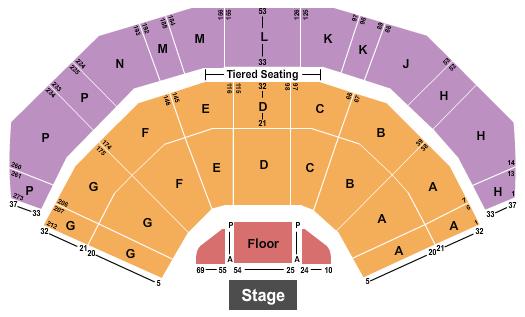 3Arena Seating Chart