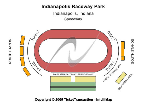 O'reilly Raceway Park Seating Map