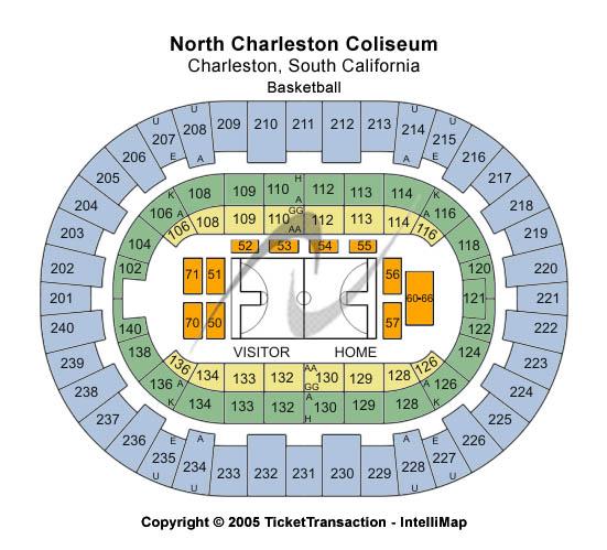 North Charleston Coliseum Basketball