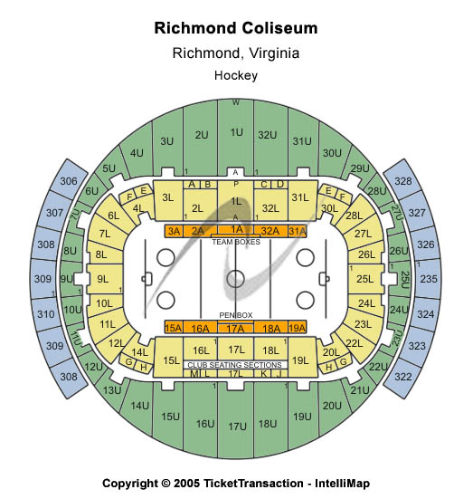 Disney On Ice Tickets  Seating Chart  Richmond Coliseum
