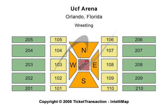 CFE Arena Seating Chart