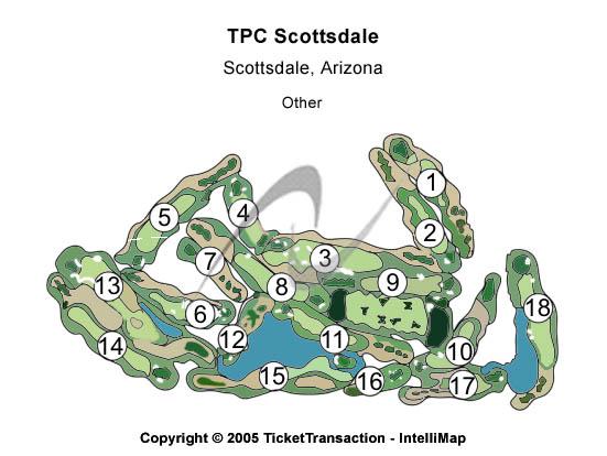 Tpc Scottsdale Seating Map