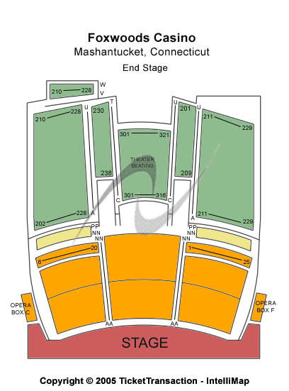 Fox Theatre Seating Chart