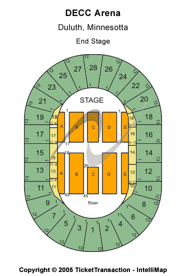 DECC Seating Chart